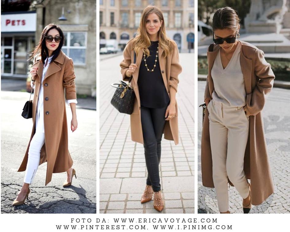 come portare il cappotto cammello