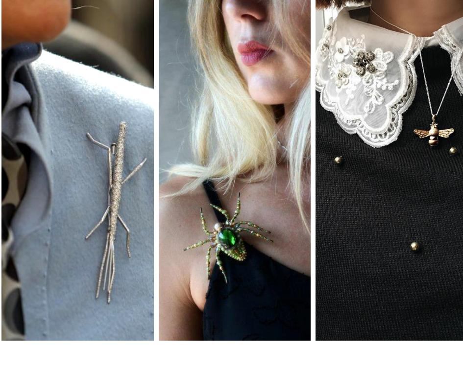 Come indossare i gioielli insetto