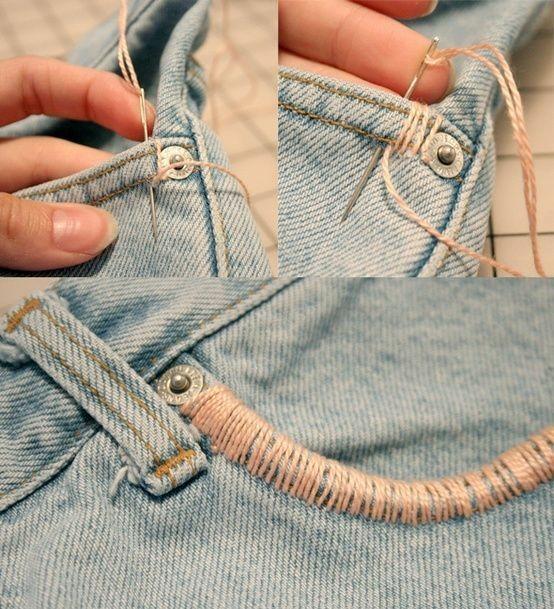 Idee fai da te per rinnovare i jeans