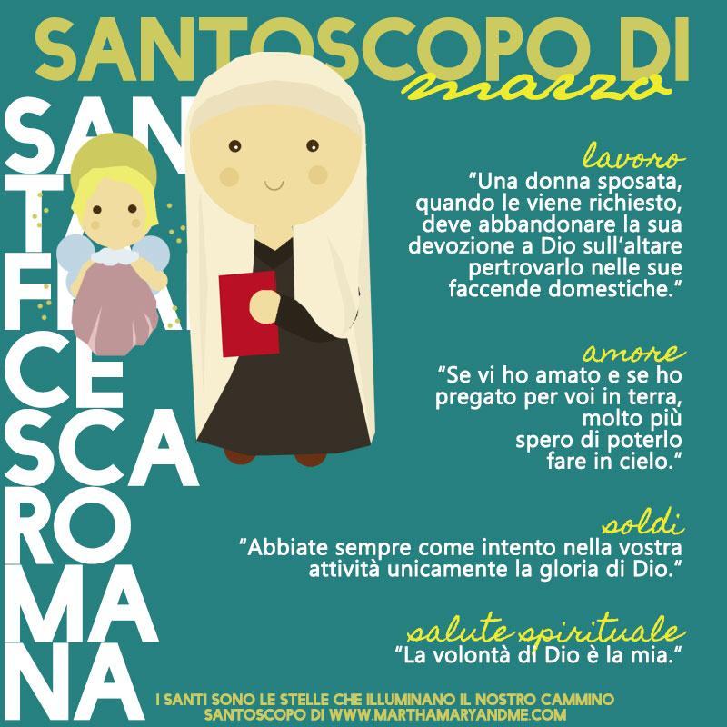 s-francesca-romana vita bambini illustrazione